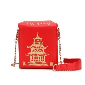 Handbags - 🆕 Red Chinese Take Out Purse